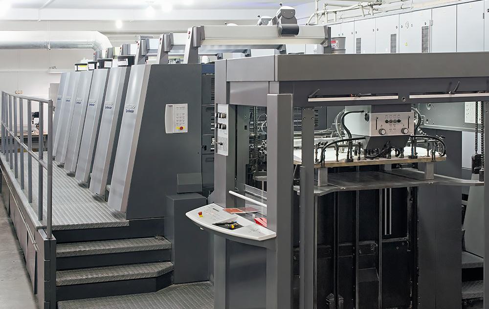 техническое оснащение типографии в Ростове для массовой печати